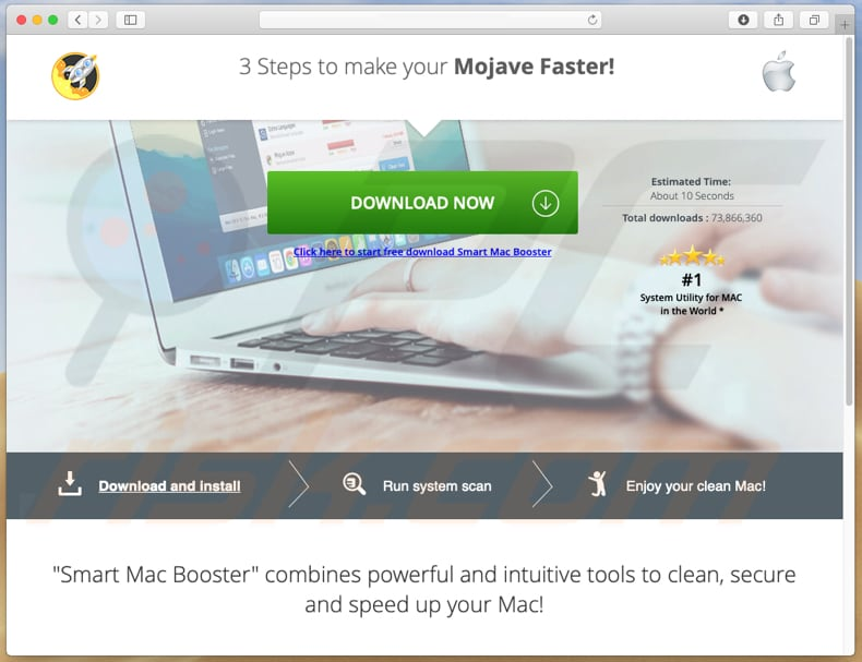smart mac booster download page