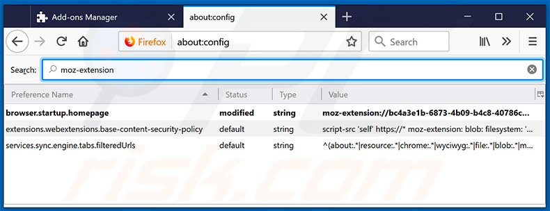 Removing search.hmyloginhelper.com from Mozilla Firefox default search engine