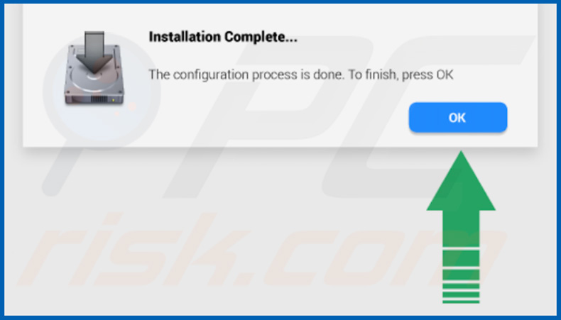 AssistEngine installer popup