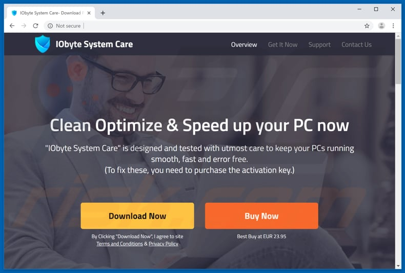 IOByte System Care download website