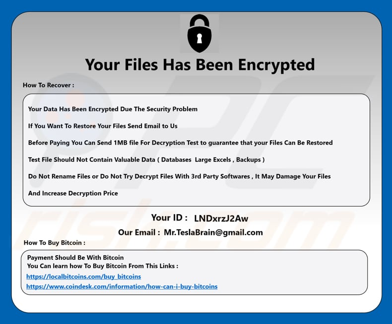 How to remove Lazarus Ransomware - virus removal steps (updated)