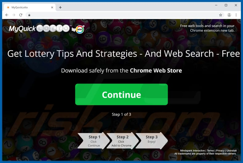 How to get rid of MyQuickLotto Toolbar - virus removal guide