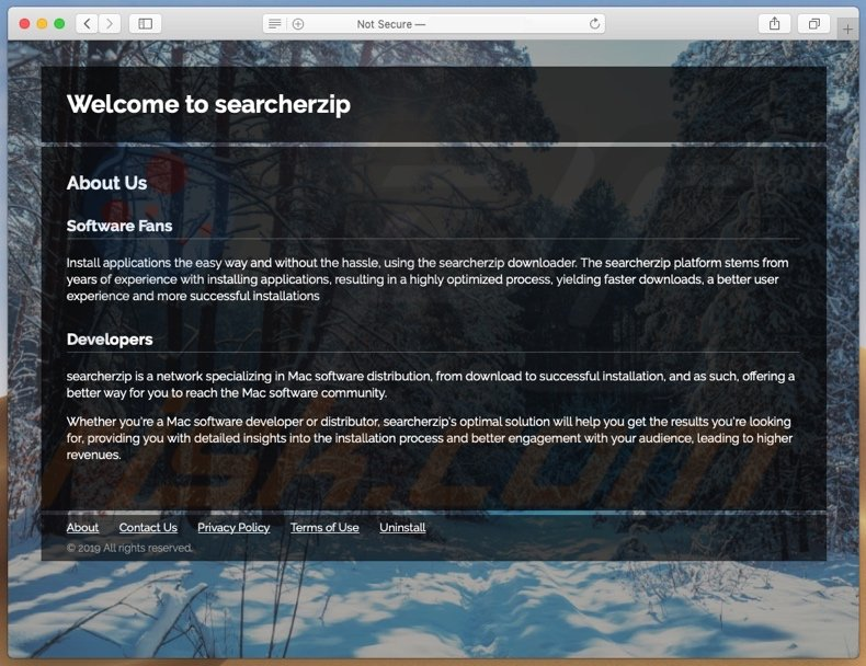 Web promoting search.searcherzip.com