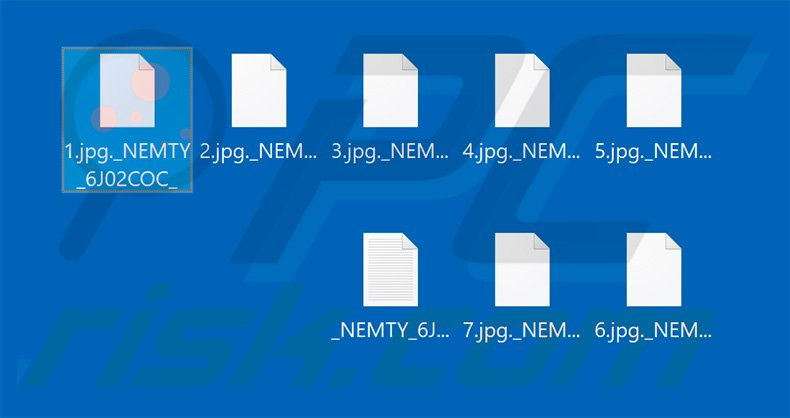 Files encrypted by NEMTY PROJECT V 1.6