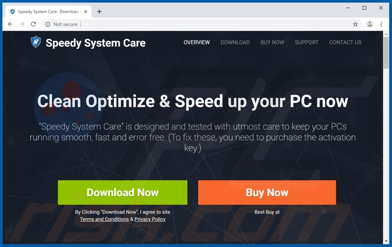 Speedy SystemCare application
