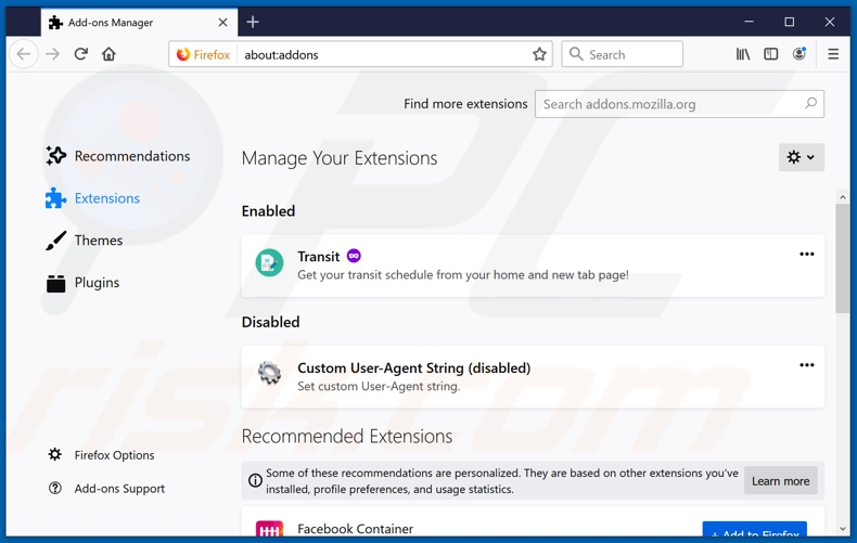 Removing essaemiaaut[.]com ads from Mozilla Firefox step 2