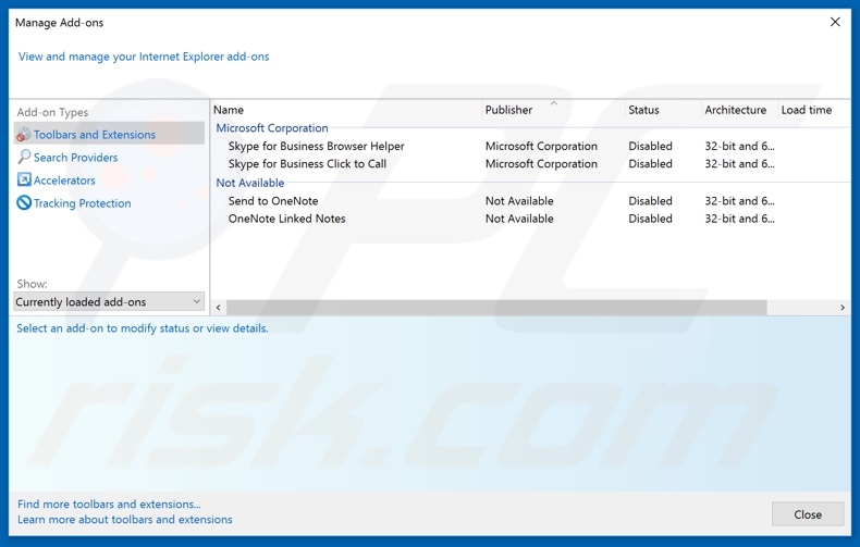 Removing essaemiaaut[.]com ads from Internet Explorer step 2