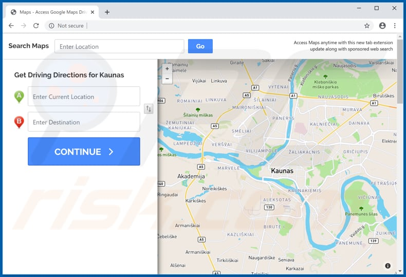 How to get rid of Maps & Driving Directions browser hijacker ...