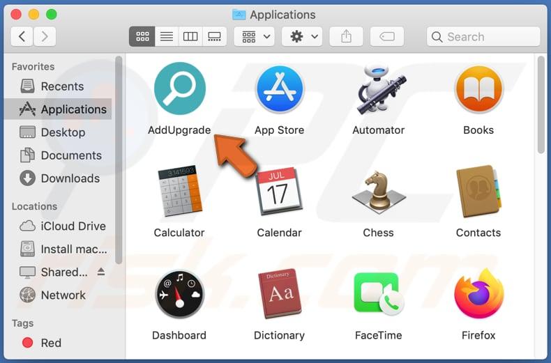 Delete adware mac