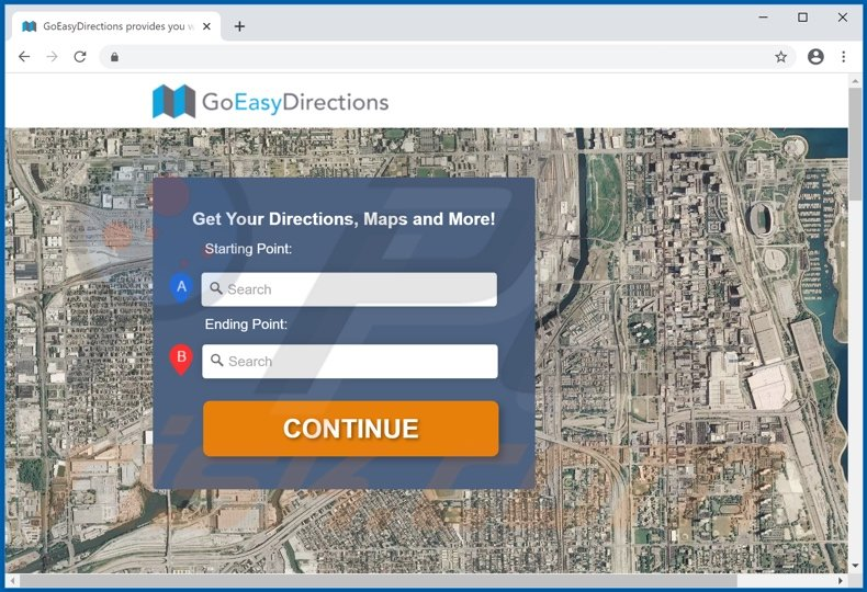 Go Easy Directions Promos adware