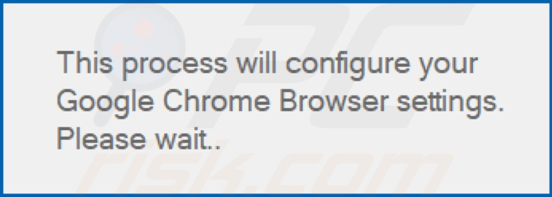 Another pop-up after installation of select-search.com browser hijacker