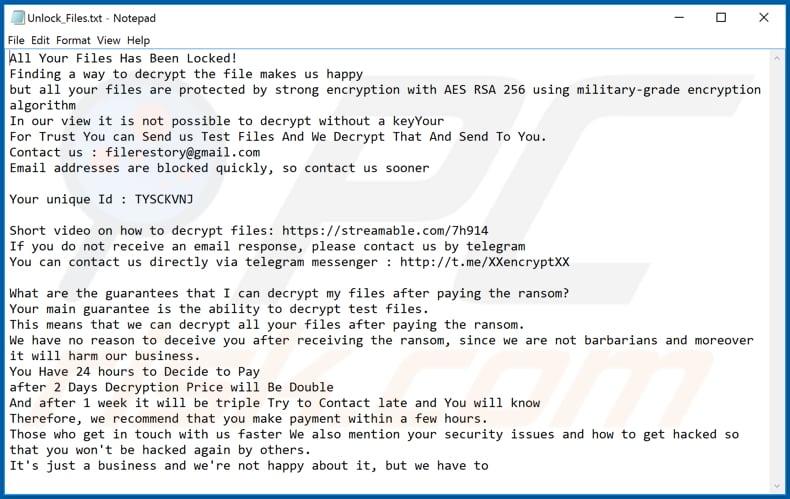 Attenzione crypto virus ransomware | fattorialeginestre.it