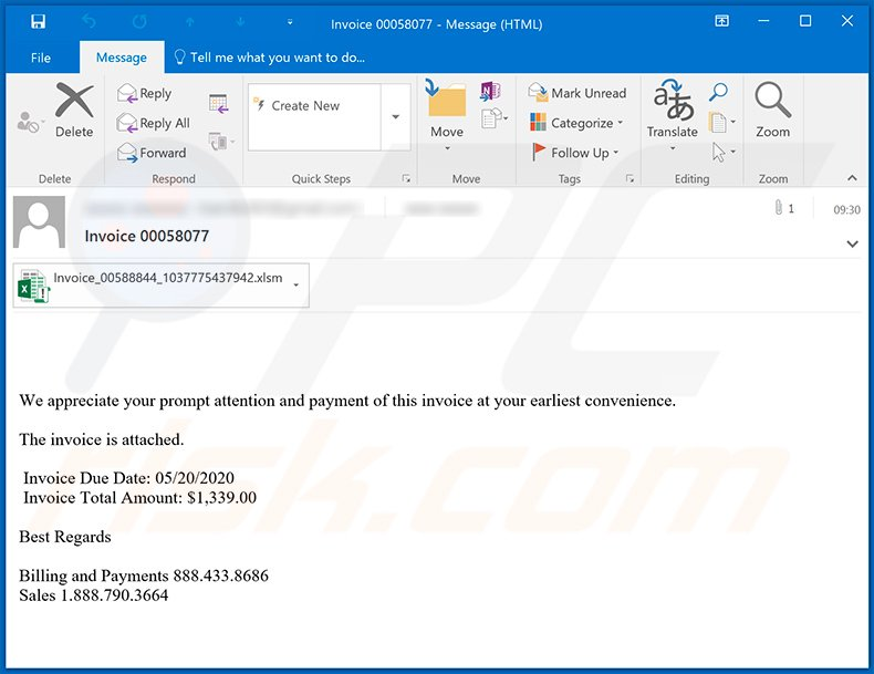 Email spam campaign spreading Dridex malware (2020-05-21)