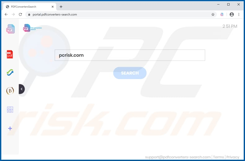 pdfconverters-search.com browser hijacker