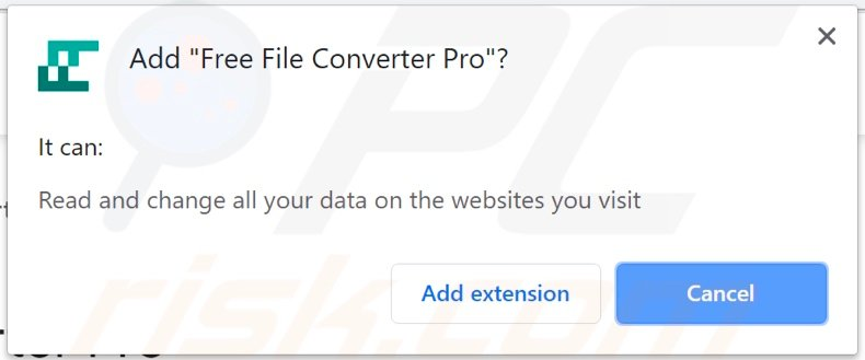 Free File Converter Pro adware asking for permissions