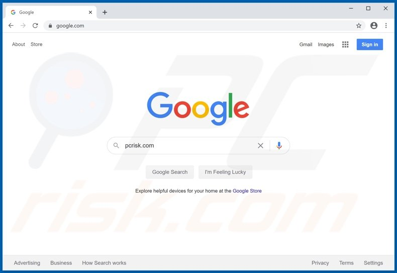 google.com browser hijacker