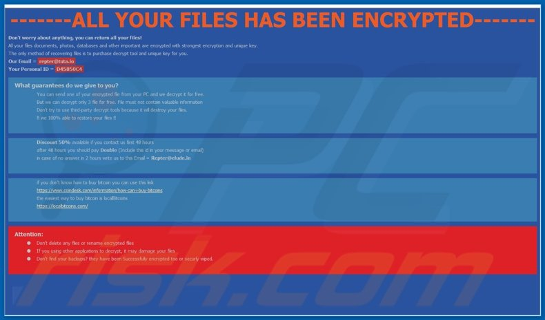 Repter decrypt instructions (How To Decrypt Files.hta)