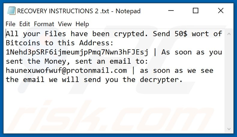 ExecutorV3 decrypt instructions (RECOVERY INSTRUCTIONS 0.txt, RECOVERY INSTRUCTIONS 1.txt, [...], RECOVERY INSTRUCTIONS 9.txt)