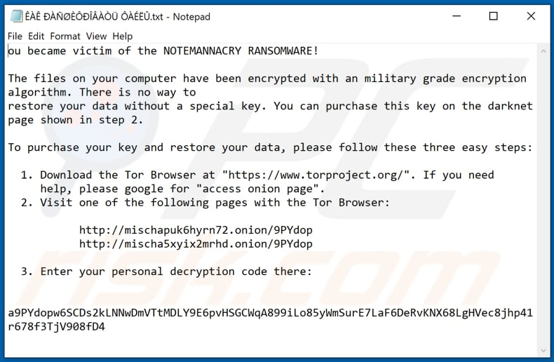 Wannacry666 decrypt instructions