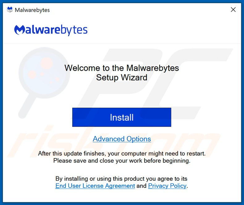legitimate malwarebytes installer