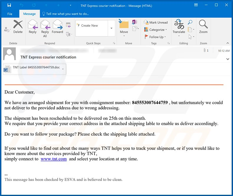 TNT-themed spam email used to spread MassLogger malware (2020-11-25)