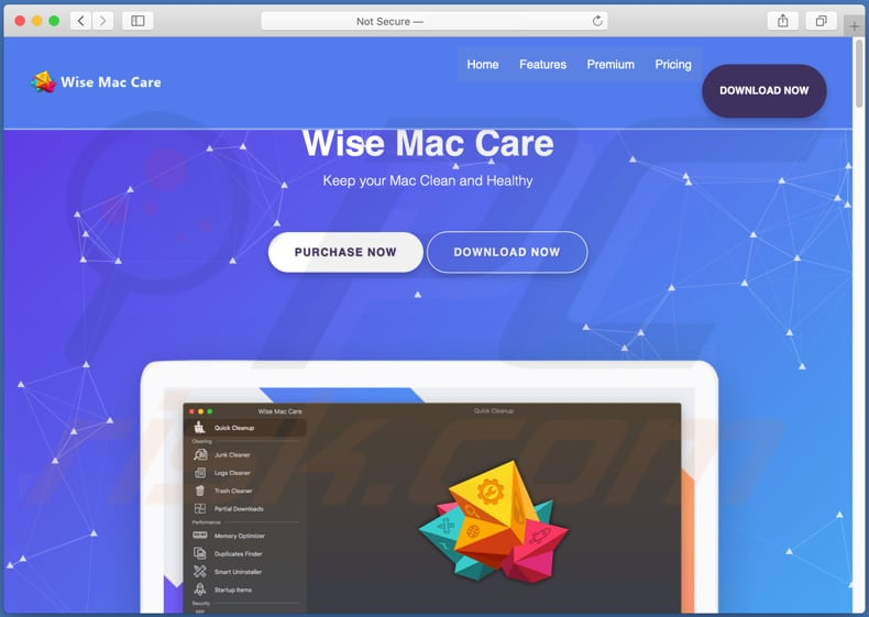 wise mac care unwanted application promoter