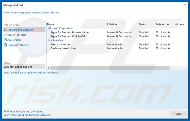 Removing netgamesearch.com related Internet Explorer extensions