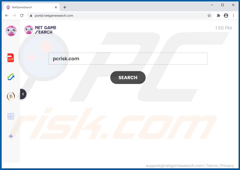 netgamesearch.com browser hijacker