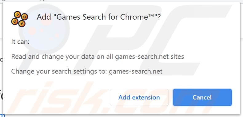 games-search.net browser hijacker