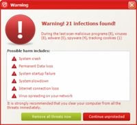 how to tell if a virus warning is fake