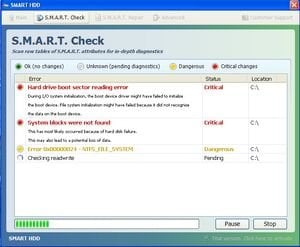 smart hdd fake scan