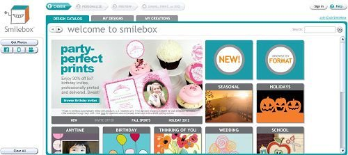 smilebox redirect