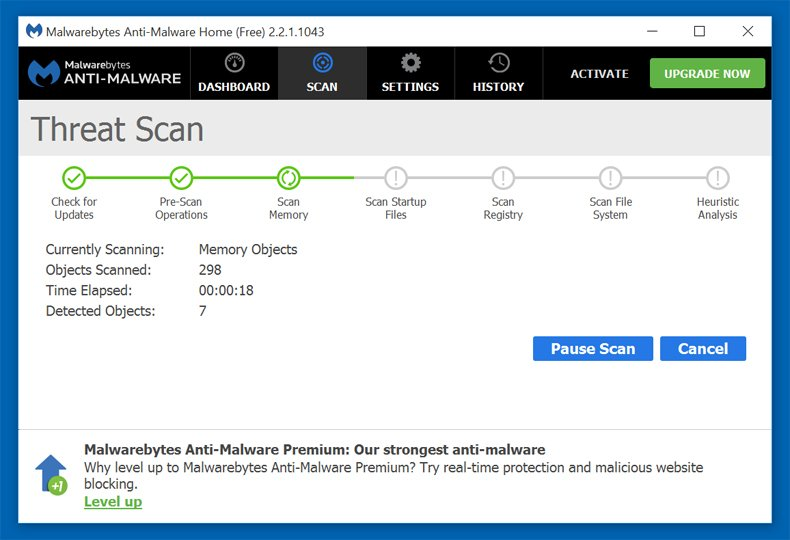 malwarebytes anti malware databases out of date