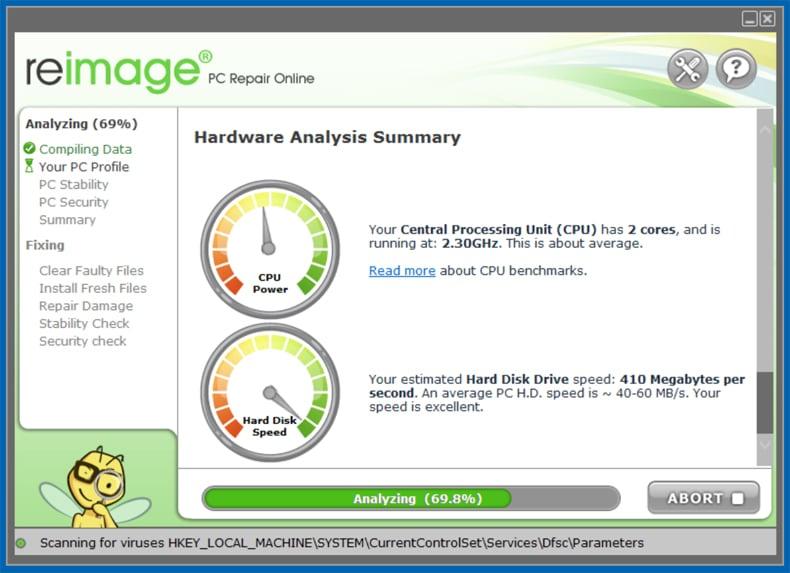 Reimage PC Repair 2018 Crack License Key Full Version