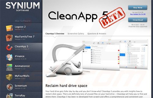 Uninstalling Mac OSX applications using cleanapp