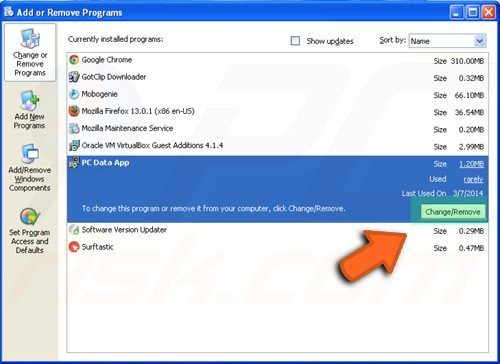 How to uninstall a program in Windows XP, Windows 7, Windows 8, Windows 10  and Mac OS X