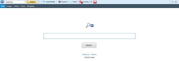 vuze toolbar redirect to search.conduit.com