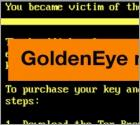 GoldenEye not Ransomware