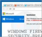 WARNING! Your Windows Has Been Blocked Scam