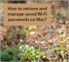 How to find Wi-Fi password on Mac?
