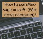 How to use iMessage on a PC (Windows computer)?