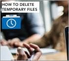 Can't Delete Temporary Files