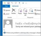 FedEx Package Email SPAM