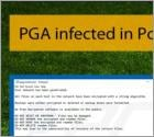 PGA infected in Possible Ransomware Attack