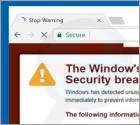 Window's Security Certificate Is Expired POP-UP Scam