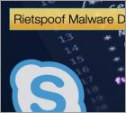 Rietspoof Malware Distributed Via Facebook Messenger and Skype