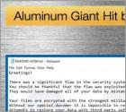 Aluminum Giant Hit by Ransomware