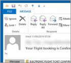 Flight Booking Email Virus