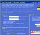 Your Windows has been blocked - Screenlocker